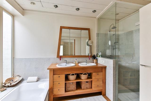 Steigerhout in je badkamer